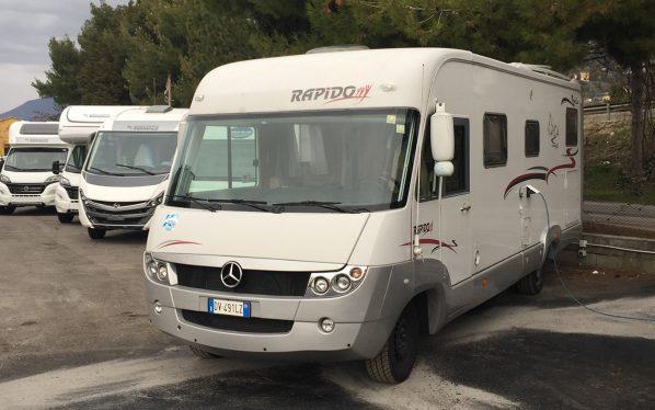 Mercedes Rapido 997 De Mai Caravan Spello
